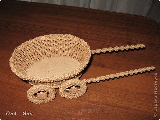 Декоративная тележка. фото 2