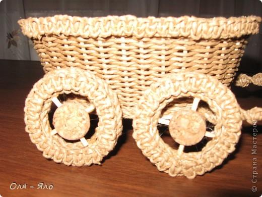 Декоративная тележка. фото 4