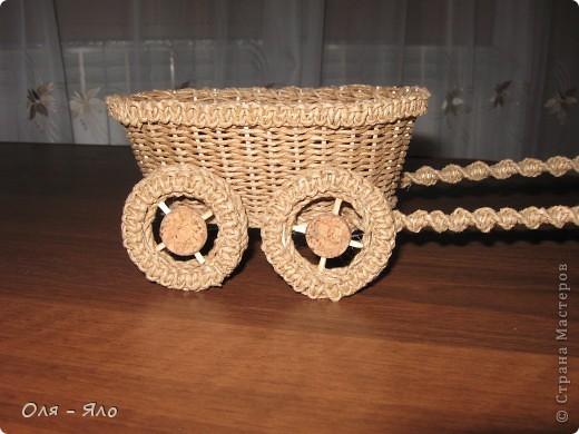 Декоративная тележка. фото 3