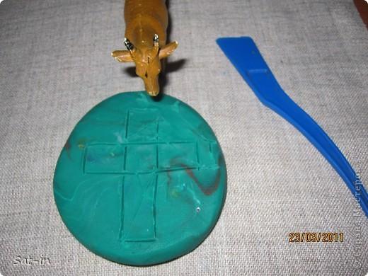 Такой крестик делается легко и быстро! фото 4