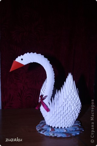 Первое мое модульное оригами фото 1