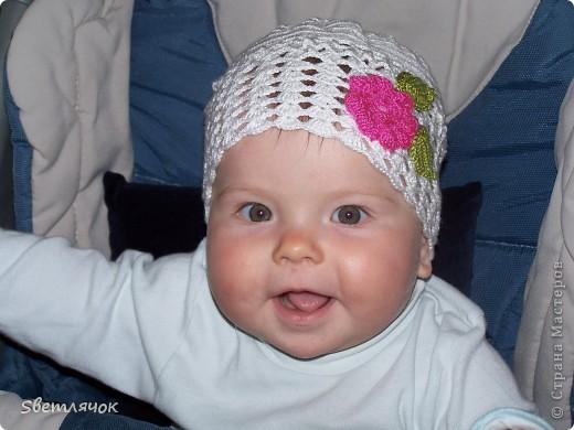 моя самая первая шапочка