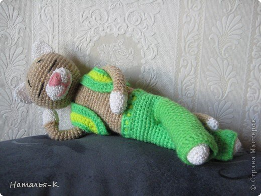вязанные игрушки фото 2