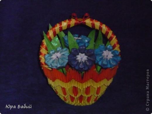 Корзины с цветами фото 7