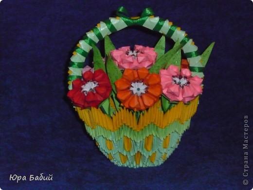 Корзины с цветами фото 9