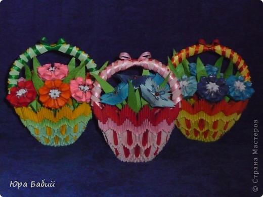 Корзины с цветами фото 1