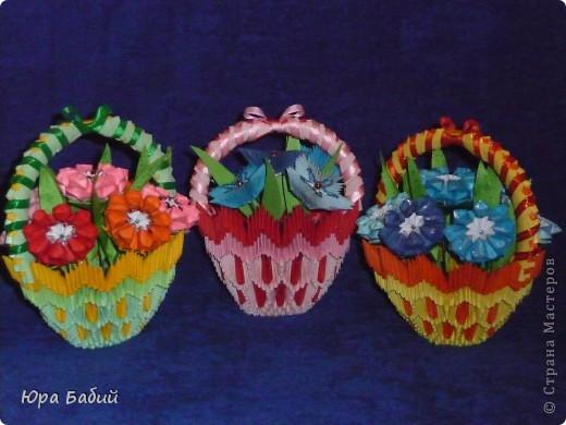 Корзины с цветами фото 2