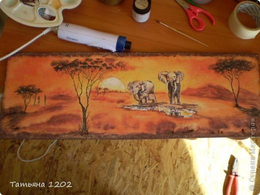 """""""Слоны в пустыне"""" фото 2"""