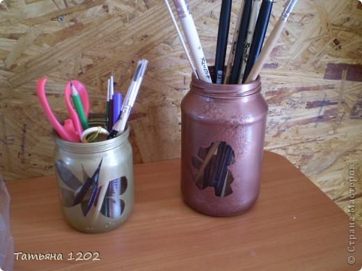 баночки под карандаши!  фото 1