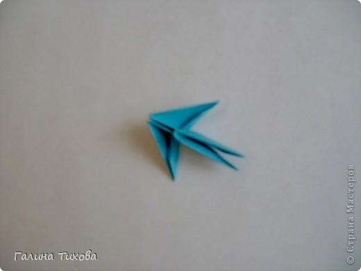 Поделка изделие Оригами китайское модульное Жар-птица Мастер-класс Бумага фото 2