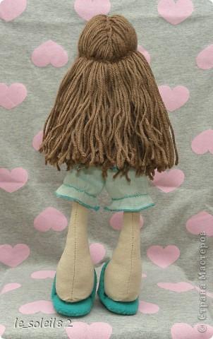 Сшила для дочи куколку в стиле Тильда. Но все общим голосованием назвали куколку Матильда.  фото 2