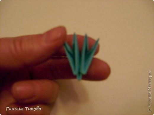 Поделка изделие Оригами китайское модульное Жар-птица Мастер-класс Бумага фото 46