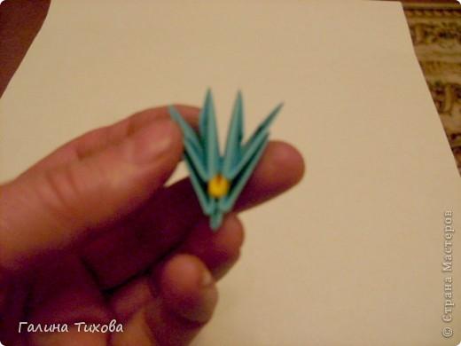 Поделка изделие Оригами китайское модульное Жар-птица Мастер-класс Бумага фото 48