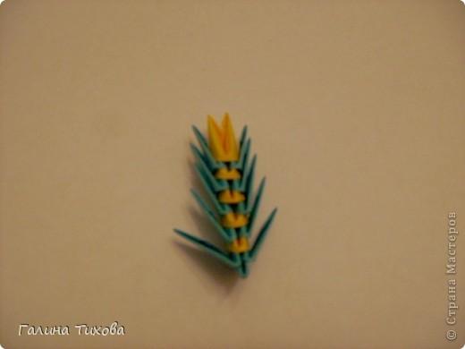Поделка изделие Оригами китайское модульное Жар-птица Мастер-класс Бумага фото 49
