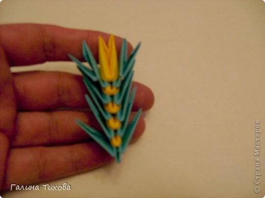 Поделка изделие Оригами китайское модульное Жар-птица Мастер-класс Бумага фото 50