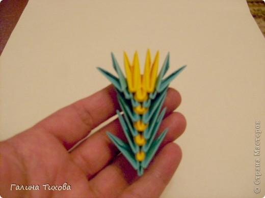 Поделка изделие Оригами китайское модульное Жар-птица Мастер-класс Бумага фото 51