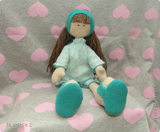 Сшила для дочи куколку в стиле Тильда. Но все общим голосованием назвали куколку Матильда.  фото 4