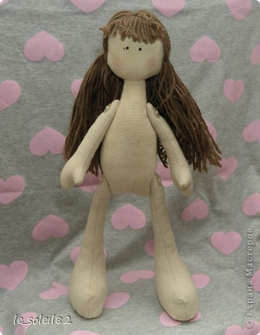 Сшила для дочи куколку в стиле Тильда. Но все общим голосованием назвали куколку Матильда.  фото 5