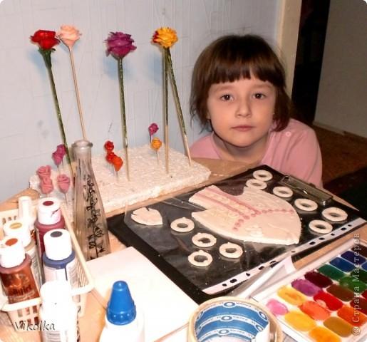 """Как правило - среди больших работ всегда присутствуют """"малышки""""!  У нас они украшают детскую спальню нашей девушки. фото 7"""
