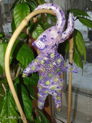 Ватные зайцы - можно сделать на Пасху. фото 1