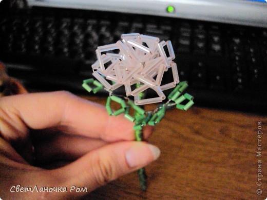 роза из бисера фото 9