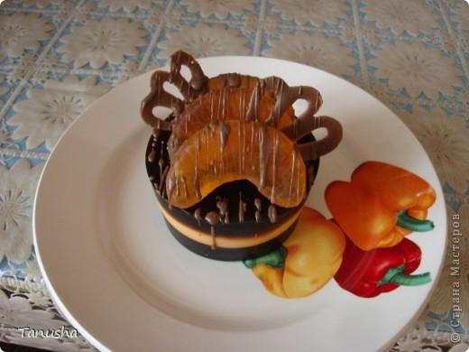 Пирожное кофейно-мандариновое :) фото 2