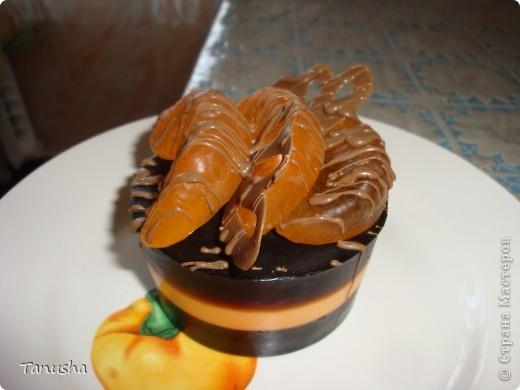 Пирожное кофейно-мандариновое :) фото 1