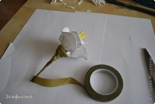Цветы из капрона. Мастер-класс фото 11