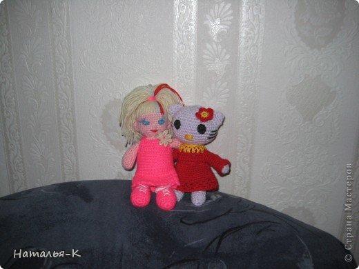 Такая куклёна связалась для моей внучки. фото 2