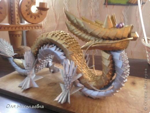 Этот дракон будет теперь охранять наш дом! Повтор, автору огромное спасибо!!! фото 2