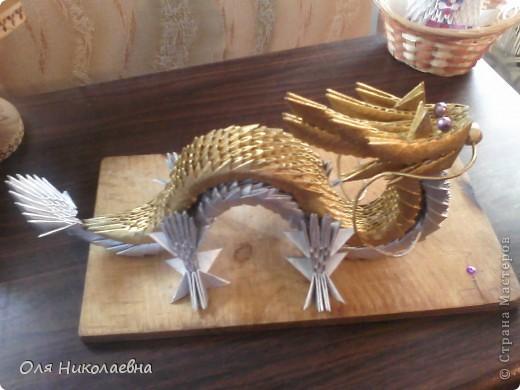 Этот дракон будет теперь охранять наш дом! Повтор, автору огромное спасибо!!! фото 4