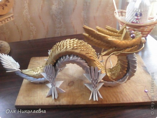 Этот дракон будет теперь охранять наш дом! Повтор, автору огромное спасибо!!! фото 1