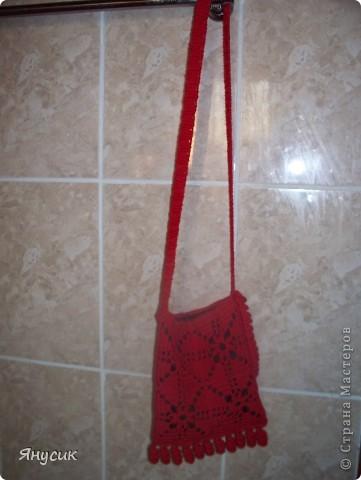 На сумку для мамы пошло 17 мотивов. Ручки купили в магазине. Вшили подкладку.Сумка готова к летнему сезону. фото 4