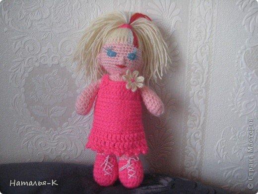 Такая куклёна связалась для моей внучки. фото 1