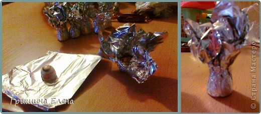 И снова здравствуйте! Делюсь очередным опытом по созданию конфетного букета. Еще несколько месяцев назад я сама еще к ним присматривалась, смотрела что к чему, и самое главное для меня было выяснить - как достать конфеты не повредив букет, поэтому остановлюсь на этом поподробнее. фото 3