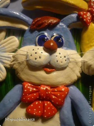 Идею этих зайцев навеял мне рисунок на обыкновенной детской пеленке. фото 3