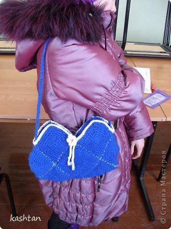 Вот такая позитивная сумочка у нас получилась, лучик солнца в помощь весне. фото 6