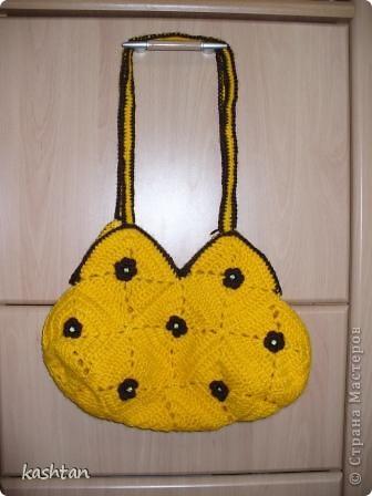 Вот такая позитивная сумочка у нас получилась, лучик солнца в помощь весне. фото 3