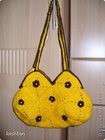 Вот такая позитивная сумочка у нас получилась, лучик солнца в помощь весне. фото 1