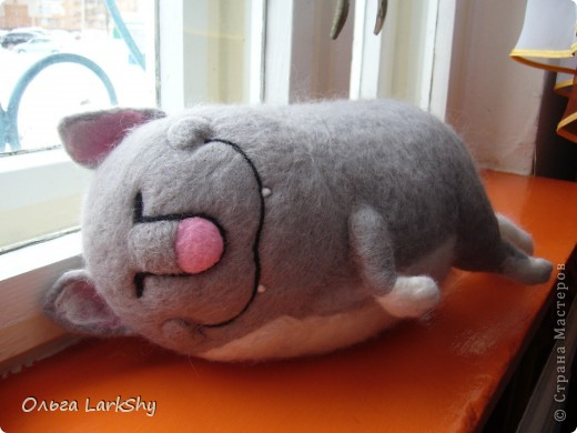 Валяный кот Бароша фото 2