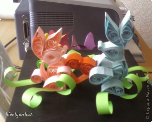 Впечатлила работа Калашниковой Виктории, http://stranamasterov.ru/node/81663, решила попробовать сделать...вот поселились такие зверушки...