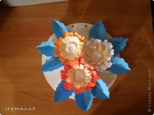 Корзина с цветами. фото 4