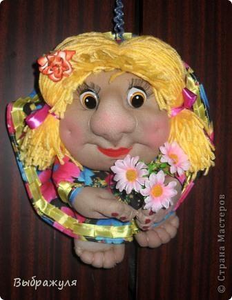 Продолжая учиться делать кукол пока тренируюсь на полюбившихся попиках. Какие  получились в этот раз судить вам. Как -то трудно они мне даются,а когда уже сделаю сразу влюбляюсь в них таких какие есть. фото 4