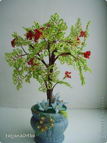 бисерные деревца фото 4