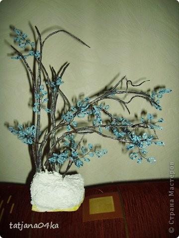 бисерные деревца фото 5