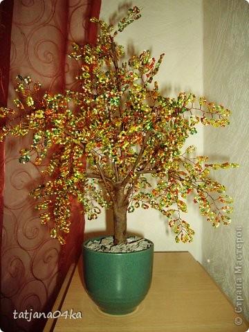 бисерные деревца фото 8