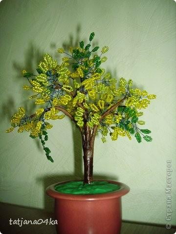 бисерные деревца фото 11