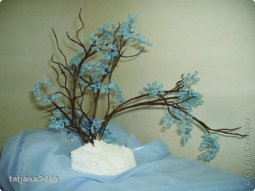 бисерные деревца фото 12