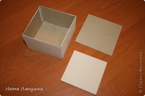 Как из коробки сделать квадрат