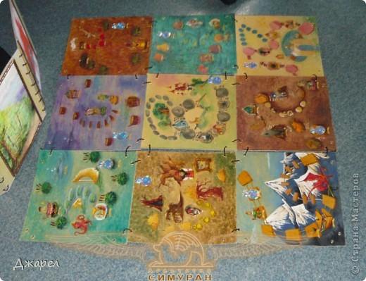 Основное поле игры состоит из 9 боков, которые легко меняются местами фото 1